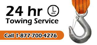 24 Hour Towing Service for London Ontario and area