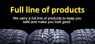 Full line of products from Jones Auto Body