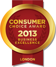 Consumer Choice Award 2013 Business Excellence London Ontario