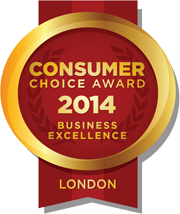 Consumer Choice Award 2014 Business Excellence London Ontario